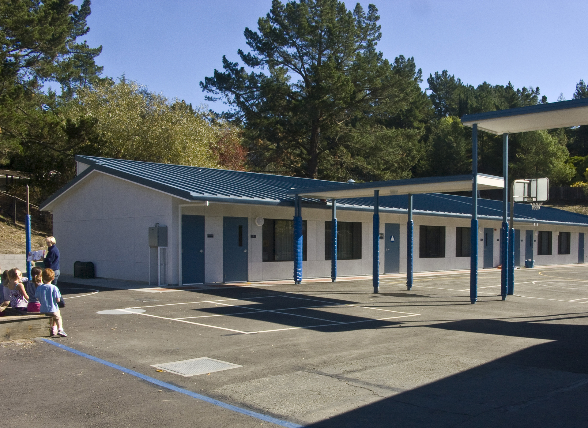 Modular Green Classroom ~ Meehleis modular buildings moraga elementary school district