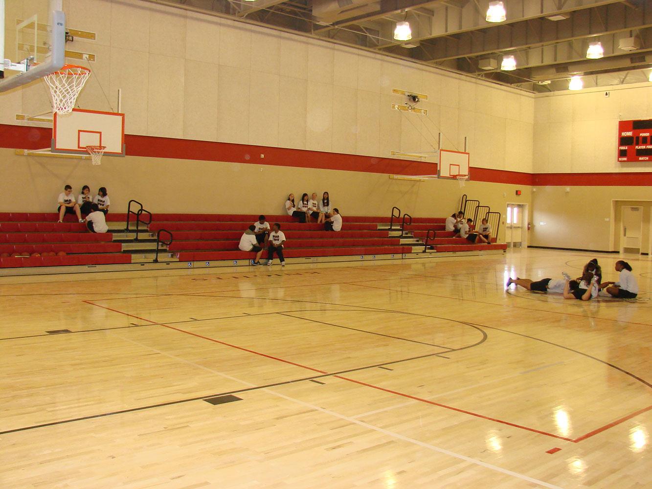 Meehleis modular buildings natomas charter school gym